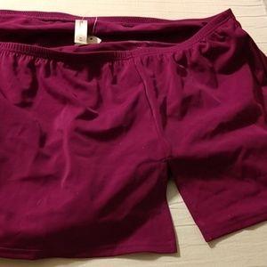 NWT Flirty swim skirt